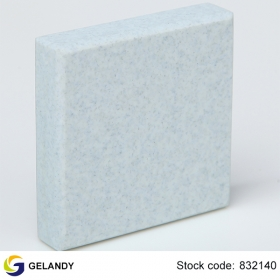 blue solid surface countertops