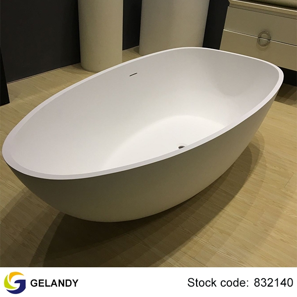 Extra Wide Solid Surface Freestanding Bathtubs