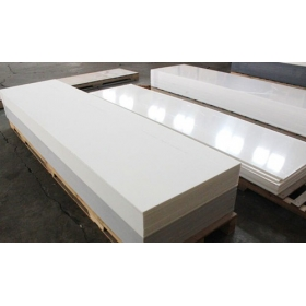 white acrylic solid surface