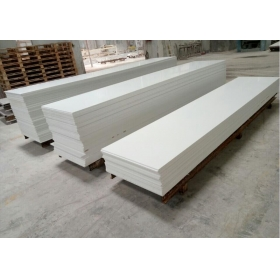 white solid surface