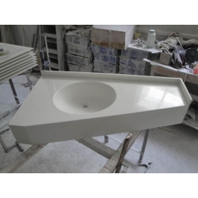 solid surface bathroom countertops
