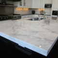 No radiation polished quartz kitchen countertops
