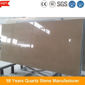 golden brown quartz stone